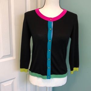 Kate Spade NY Live Colorfully 3/4 Sleeve  Sweater
